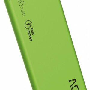 Powerbank ACC+ THIN 3600mAh Zielony