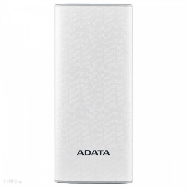 Powerbank ADATA P10000 10000mAh Biały (AP10000DUSBCWH)