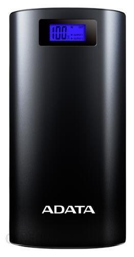 Powerbank Adata P20000D 20000mAh Czarny (AZADAUAPAP200BK)