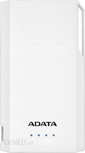 Powerbank ADATA S10000 10000mAh Biały (AS10000USBACWH)
