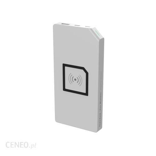 Powerbank Allocacoc Duo-Wireless 8000mAh Biały