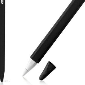 Alogy Etui ochronne obudowa pokrowiec na Apple Pencil 2 Czarny