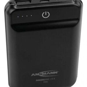 Powerbank Ansmann 10.8 mini 10000mAh Czarny (17000091)