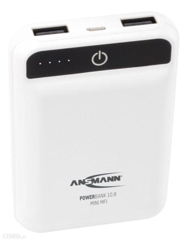 Powerbank Ansmann Mini White 10000Mah 17000090