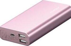 Powerbank Aukey 10050mAh Różowy (PB-AT10)