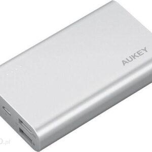 Powerbank Aukey 10050mAh Srebrny (PB-AT10)