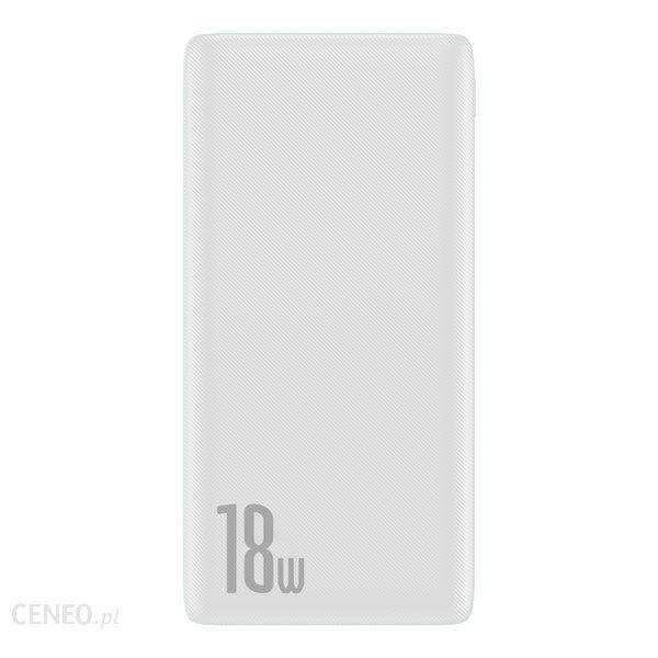 Powerbank Baseus Bipow 10000mAh Biały (PPDML-02)