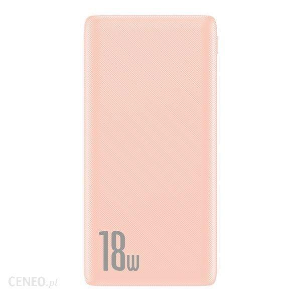 Powerbank Baseus Bipow 10000mAh Różowy (PPDML-04)