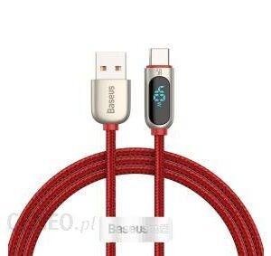 Baseus Kabel USB do USB-C Display 5A 1m Czerwony (CATSK09)