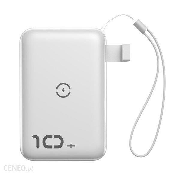 Powerbank Baseus Mini S 10000mAh Biały (PPXFF10W02)