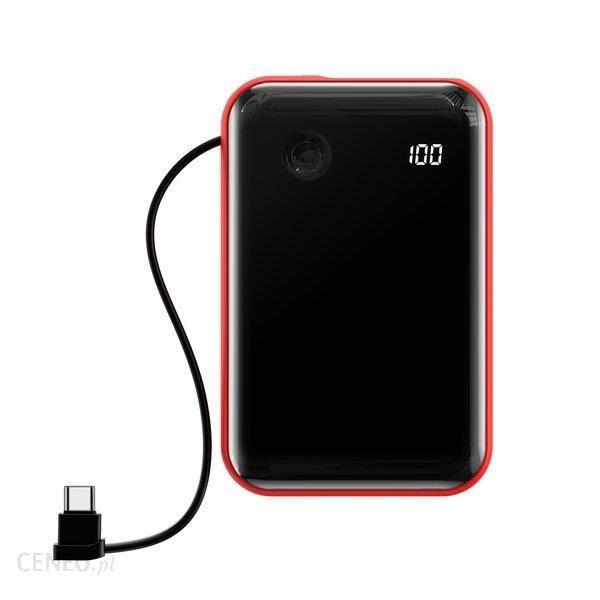 Powerbank Baseus Mini S 10000mAh Czerwony (PPXF-A09)