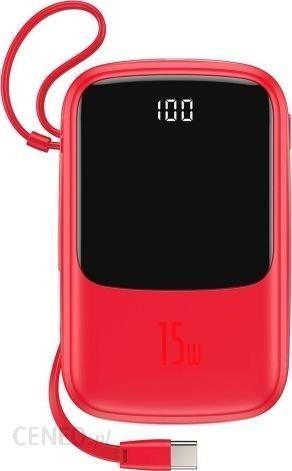 Powerbank Baseus Qpow 10000mAh Czerwony (PPQD-A09)