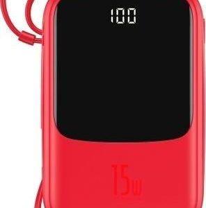 Powerbank Baseus Qpow 10000mAh Czerwony (PPQD-B09)