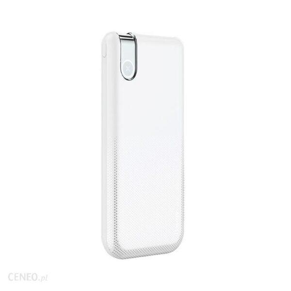 Powerbank Baseus Thin Wireless 10000mAh Biały (ppall-qy02)