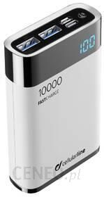 Powerbank CellularLine FreePower Manta 10000mAh Biały (FREEPMANTA10HDW)