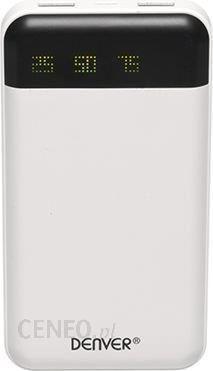 Powerbank Denver Powerbank 12000mAh Biały (PBA12000)