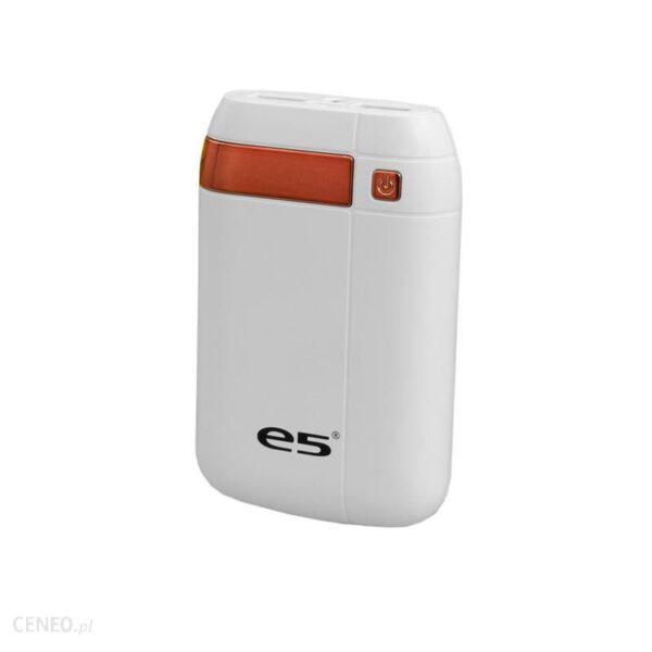 Powerbank E5 Duke 6000mAh Biały (RE02526Biały)