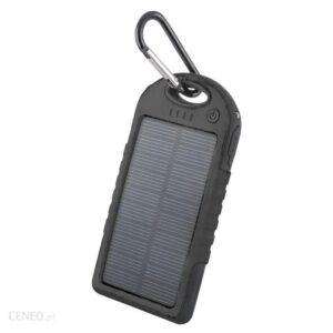 Powerbank Forever Mobilna Bateria Power Bank Solarny Pb-016 5000 Mah Czarny (Gsm011345)