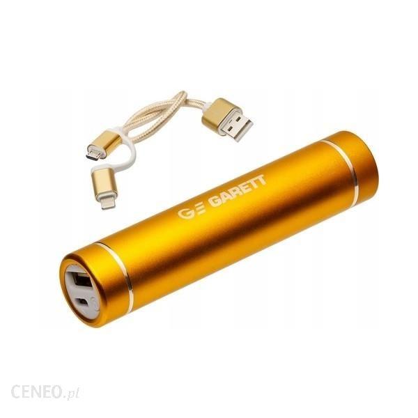 Powerbank Garett Power 2 2600mAh Złoty