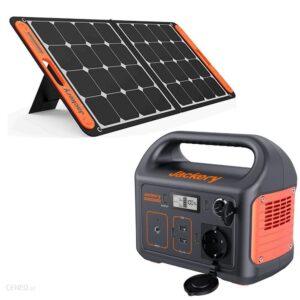 Powerbank Generator Solarny Jackery Explorer 240EU + 1x panel solarny SolarSaga 100W