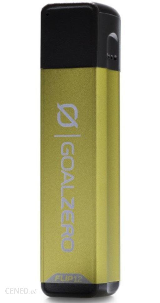 Powerbank Goal Zero Power Bank Z Kablem Usb 3350 Mah Flip 12 Zielony