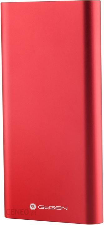 Powerbank Gogen 10000mAh Czerwony (PB100004RW)