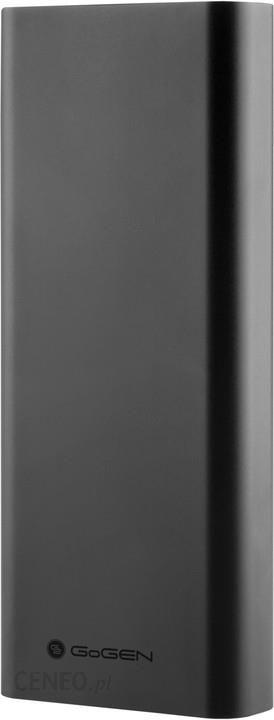 Powerbank Gogen 20000mAh Czarny (PB200004GR)