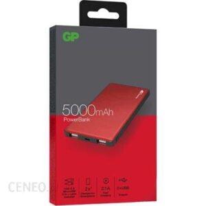 Powerbank GP 5000mAh Czerwony (MP05MAR)
