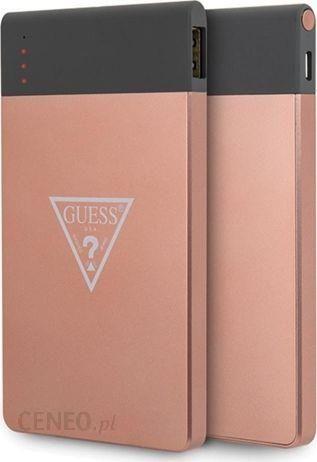Powerbank Guess 4000 mAh Różowe Złoto (GUL23PB4TLRG)