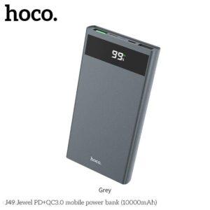 Powerbank HOCO J49 Jewel 10000mAh Szary