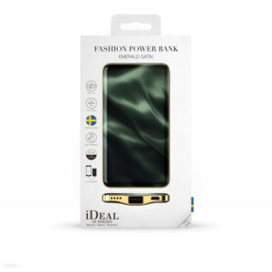 Powerbank iDeal of Sweden Fashion 5000mAh (Emerald Satin)
