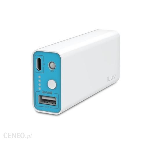 Powerbank iLuv MyPower 5200mAh Biały