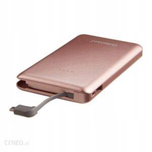 Powerbank Intenso Slim Idual S10000 10000mAh Różowy (7332533)