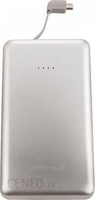 Powerbank Intenso Slim iDual S10000 10000mAh Srebrny (7332531)