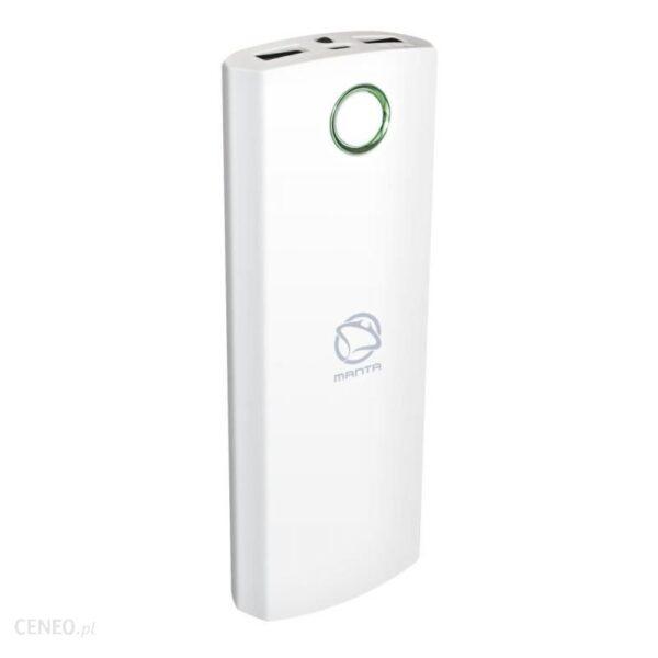 Powerbank Manta 10000mAh Biały MPB005