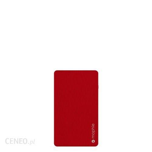 Powerbank Mophie Powerstation 5050Mah Ze Złączem Lightning Czerwony