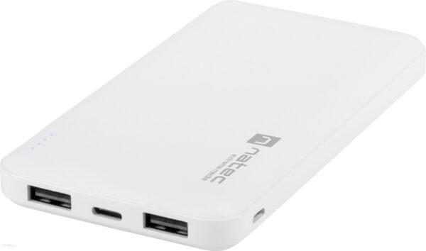 Powerbank NATEC EXTREME MEDIA Trevi Slim 10000mAh Biały