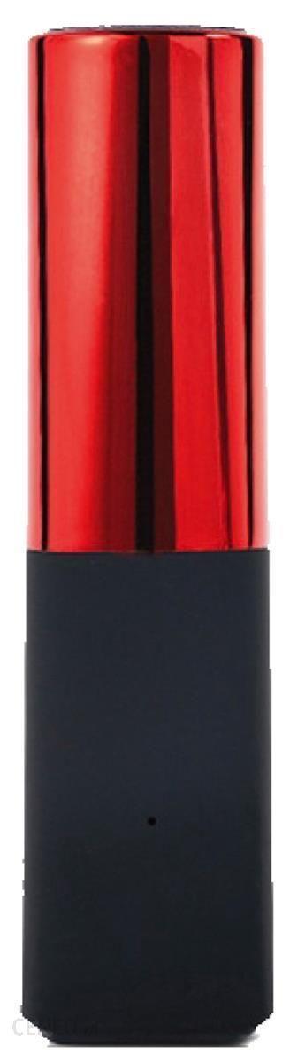 Powerbank Platinet Lipstick 2600mAh Czerwony (43639)