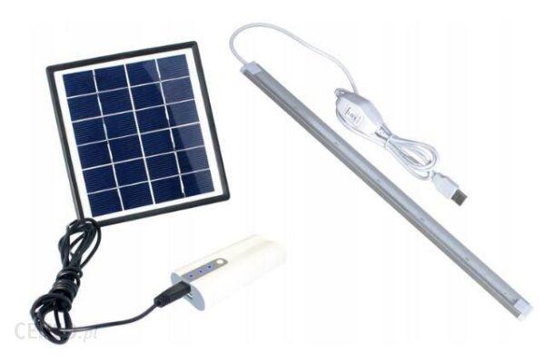 Powerbank PowerPlus Dove Zestaw Zasilania Solarnego 2x2000mAh (PPDOVE)