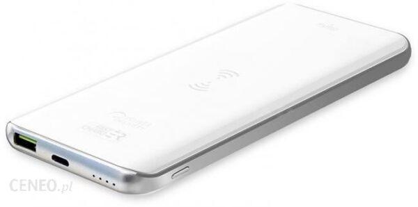 Powerbank Puro Wireless Slim 8000mAh Biały (FCBB80P1QIWHI)