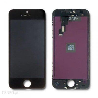 Qoltec Wyświetlacz Dotykowy Lcd Do Iphone 5Sse Ramka Czarna (50731)