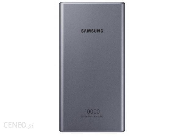 Powerbank Samsung Super Fast Charge 25W 10000mAh Szary (EB-P3300XJEGEU)