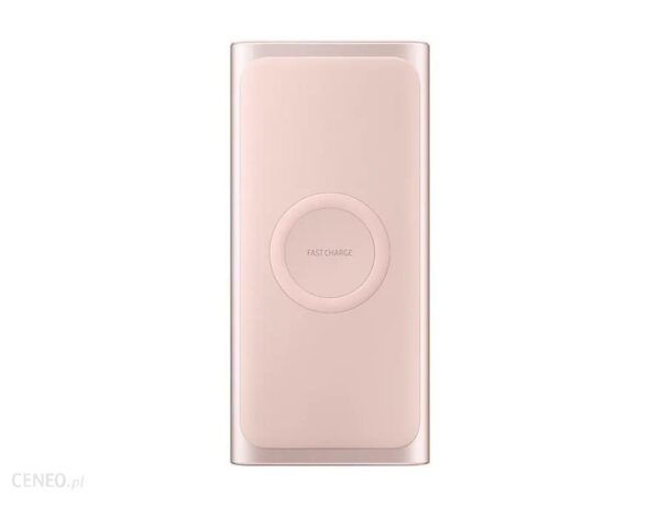 Powerbank Samsung Wireless Battery Pack Fast Charge 10000mAh Różowy (EB-U1200CPEGWW)
