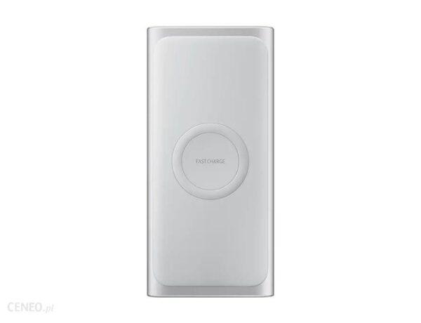Powerbank Samsung Wireless Battery Pack Fast Charge 10000mAh Srebrny (EB-U1200CSEGWW)