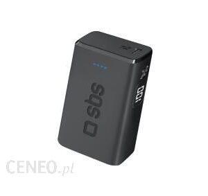 Powerbank SBS 10000mAh Czarny (TEBB10000MIPDK)