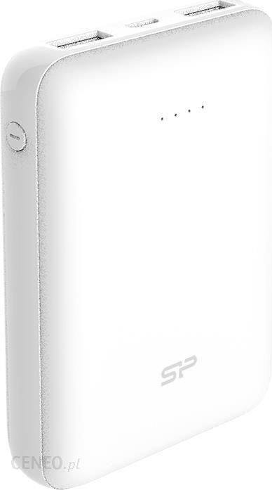 Powerbank Silicon Power Cell C100 10000mAh mini Biały (SP10KMAPBK100CPW)