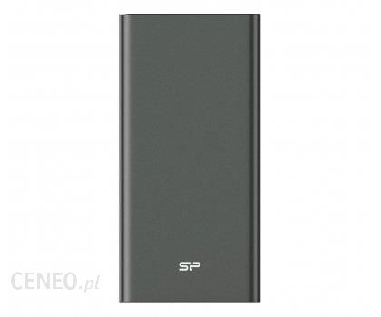 Powerbank Silicon Power QP60 10000mAh Tytanowy