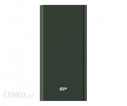 Powerbank Silicon Power QP60 10000mAh Zelony