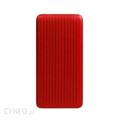 Powerbank Silicon Power QP66 10000mAh Czerwony
