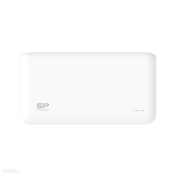 Powerbank Silicon Power S150 15000mAh Biały (SP15KMAPBK150P0W)